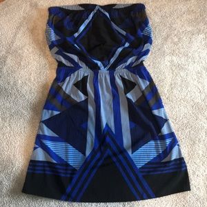Express Strapless Dress Size Small